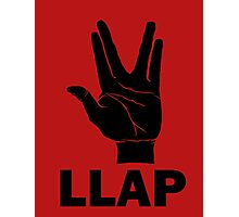 LLAP - Star Trek Fans Photographic Print
