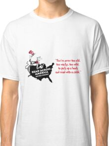 Read Across America Day design Classic T-Shirt