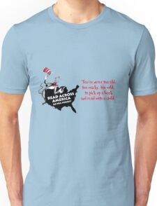 Read Across America Day design Unisex T-Shirt