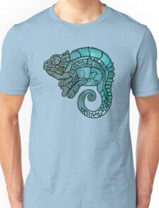 Chameleon in ethnic decorative ornamental manner Unisex T-Shirt