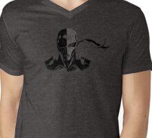 Deathstroke Ink Mens V-Neck T-Shirt