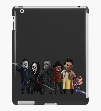 Slasher Squad iPad Case/Skin