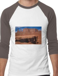 Layers Of Time Men's Baseball ¾ T-Shirt