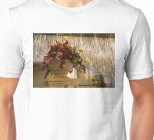 Extravagant Flower Arrangements And Brilliant Crystal Chandeliers Unisex T-Shirt