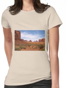 Into the Valley I Will Go Womens Fitted T-Shirt