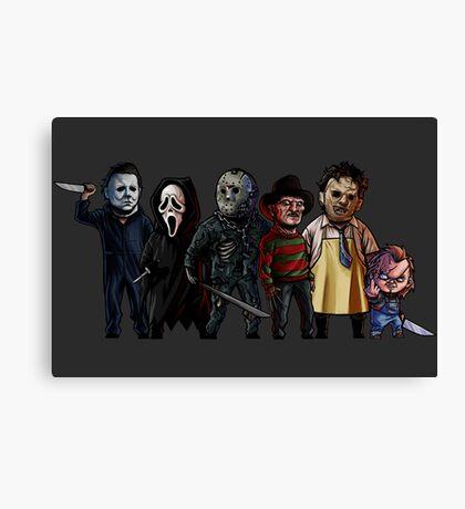 Slasher Squad Canvas Print