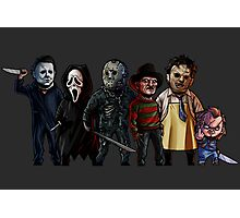 Slasher Squad Photographic Print