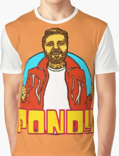Pondy is the Coolest Graphic T-Shirt