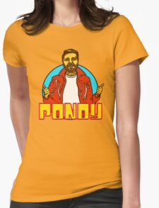 Pondy is the Coolest Womens Fitted T-Shirt