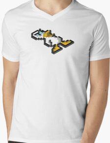 Isometric Gamer - Duck Game Mens V-Neck T-Shirt