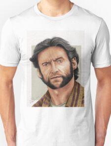 Hugh Jackman, the Man called Logan (aka The Wolverine) T-Shirt