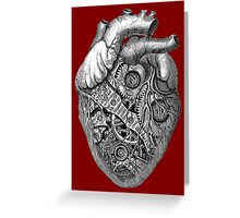 Clockwork Heart Greeting Card
