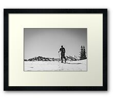 the ridge Framed Print