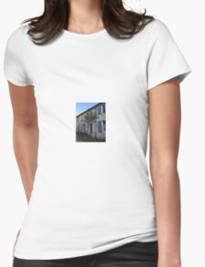 French Country Cottage Womens Fitted T-Shirt