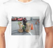 Caution - Orchid Crossing Unisex T-Shirt