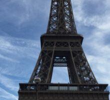 Eiffel Tower with blue sky Sticker