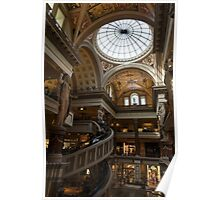 Magnificent Shopping Destination - the Forum Shops at Caesars Palace Hotel & Casino in Las Vegas Poster