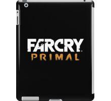 Far Cry Primal Logo - White Text iPad Case/Skin