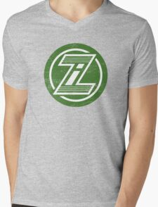 Zorin Industries (aged look) Mens V-Neck T-Shirt