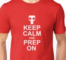 Keep Calm and Prep On Unisex T-Shirt