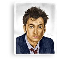 Need a Doctor? Say Ten! (Doctor Who) Canvas Print