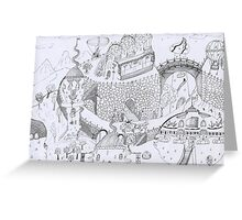 fairy tale Greeting Card