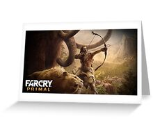 Far Cry Primal Poster Greeting Card