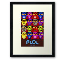 FLCL by Andy Warhol Framed Print