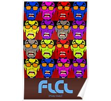FLCL by Andy Warhol Poster
