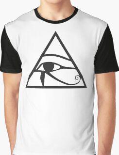 Horus Eye Graphic T-Shirt