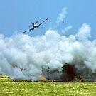 Spitfire Strafe by Colin Smedley
