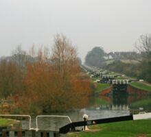 Caen Hill Locks Sticker