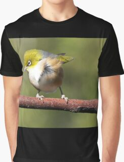 Silver Eye......Is that food down there.....? Graphic T-Shirt