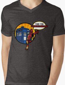 Time for Chimichangas!!! Mens V-Neck T-Shirt