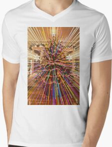 Christmas at warp speed Mens V-Neck T-Shirt