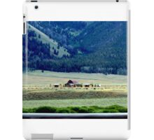 Down In The Valley..Ketchum, Idaho...drive by iPad Case/Skin