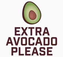 Extra Avocado Please One Piece - Short Sleeve
