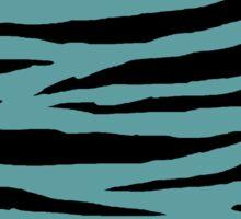 0090 Cadet Blue Tiger Sticker