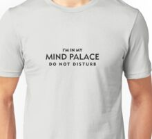 Mind Palace Black Unisex T-Shirt