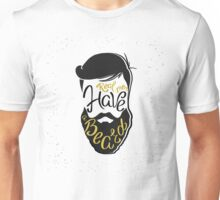 Real men have a beard  Unisex T-Shirt
