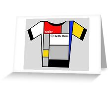 Retro Jerseys Collection - La Vie Claire Greeting Card