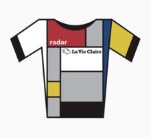 Retro Jerseys Collection - La Vie Claire One Piece - Short Sleeve