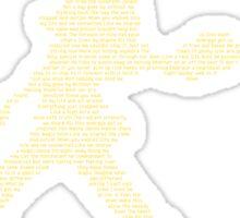 Persona 4 Dancing All Night - DANCE!  Sticker