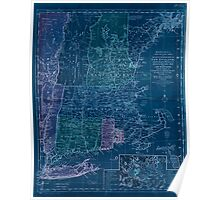 American Revolutionary War Era Maps 1750-1786 349 Bowles's new pocket map of the most inhabited part of New England comprehending the provinces of Inverted Poster