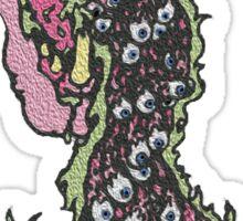 Messy Eyeball Vomit Sticker