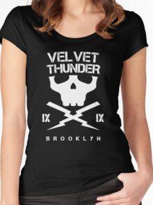 Velvet Thunder Club Women's Fitted Scoop T-Shirt