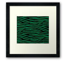0092 Cadmium Green Tiger Framed Print