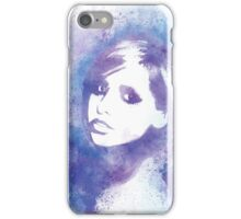 SMG Watercolor Portrait iPhone Case/Skin