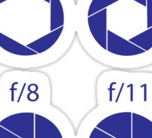 F-Stops - Blue Sticker