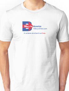 Hillary Clinton 2016 Parody Shirt (LIGHT) Unisex T-Shirt